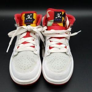 480c84f67d30 Air Jordan Shoes - AIR JORDAN 1 MID WB HARE GIRLS SHOES